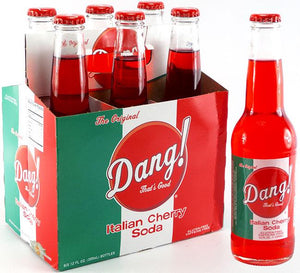 DANG! Italian Cherry Soda - Sweets and Geeks