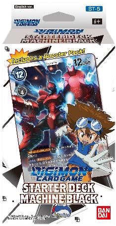 Digimon TCG: Starter Deck Display - Machine Black (Preorder) - Sweets and Geeks