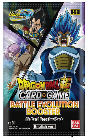 Dragon Ball Super: Unison Warriors Battle - Battle Evolution Booster (Preorder) - Sweets and Geeks