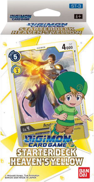 Digimon TCG: Starter Deck Display - Heavens Yellow (Preorder) - Sweets and Geeks