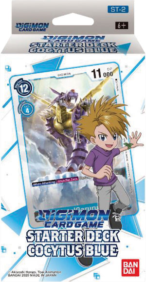 Digimon TCG: Starter Deck Display - Cocytus Blue (Preorder) - Sweets and Geeks