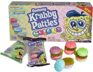 SPONGEBOB KRABBY PATTIES COLORS THEATER BOX - Sweets and Geeks