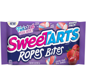 SWEETARTS ROPES TWISTED BERRY - Sweets and Geeks