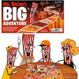 MR. BACON'S BIG ADVENTURE BOARD GAME - Sweets and Geeks