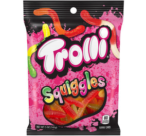 TROLLI SQUIGGLES PEG BAG - Sweets and Geeks