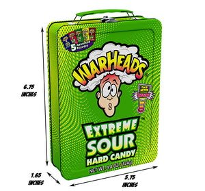 Warheads Lunchbox - Sweets and Geeks