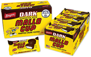 Boyer Mallo Cup Dark Chocolate 1.5 OZ - Sweets and Geeks