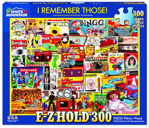 I Remember Those! 300 Piece Jigsaw Puzzle - Sweets and Geeks