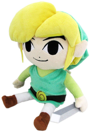 "Little Buddy The Legend of Zelda - Wind Waker - Link Plush, 8"" - Sweets and Geeks"