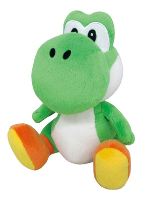 "Little Buddy Super Mario All Star Collection Yoshi Plush, 7"" - Sweets and Geeks"