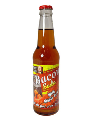 Lester's Fixins Bacon Soda with Maple Syrup - Sweets and Geeks