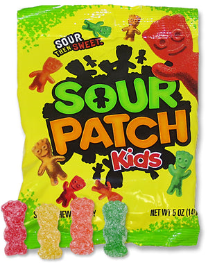 SOUR PATCH KIDS PEG BAG 5oz - Sweets and Geeks