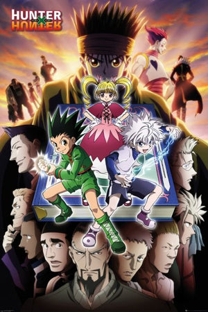 Hunter X Hunter - Cover Art - Sweets and Geeks