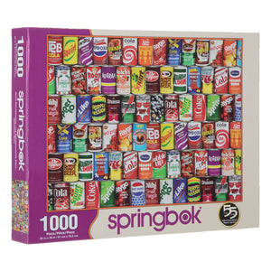 Springbok :Retro Refreshment - Sweets and Geeks