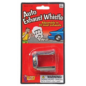 Auto Exhaust Whistle - Sweets and Geeks