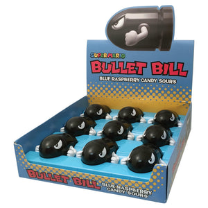 Nintendo Bullet Bill Sours - Sweets and Geeks