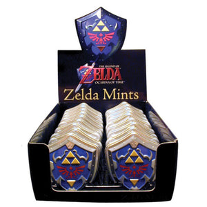 Zelda Shield Mints - Sweets and Geeks