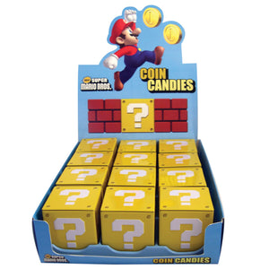 Super Mario Coin Candies - Sweets and Geeks