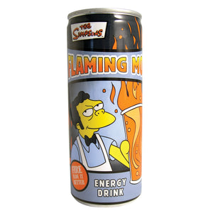 Simpsons Flaming Moe Energy Drink - Sweets and Geeks