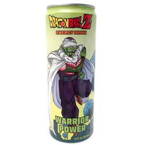 DBZ Warrior Power Energy Drink - Sweets and Geeks