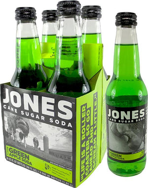 Jones Green Apple Soda - Sweets and Geeks