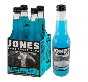 Jones Berry Lemonade Soda - Sweets and Geeks