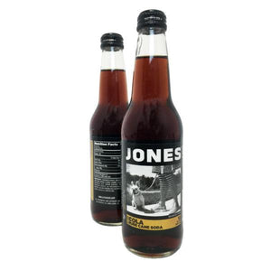 Jones Pure Cane Sugar Cola - Sweets and Geeks