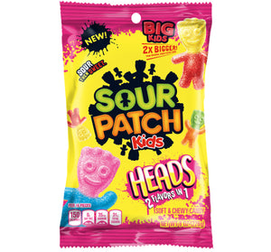 SOUR PATCH KIDS BIG HEADS BAG - Sweets and Geeks