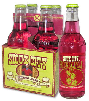 Sioux City Prickly Pear Soda - Sweets and Geeks
