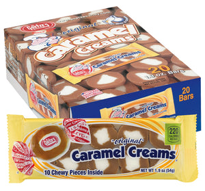 Caramel Creams (10 Pieces per Pack) 1.9 OZ - Sweets and Geeks