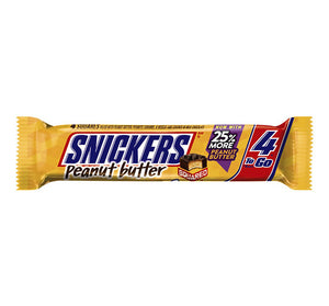 Snickers Peanut Butter Squares 4 To Go Share Size - Sweets and Geeks