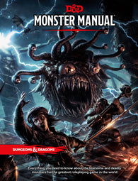 Dungeons and Dragons RPG: Monster Manual - Sweets and Geeks