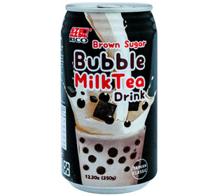 RICO BUBBLE TEA W/ TAPIOCA - BROWN SUGAR - Sweets and Geeks