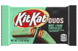 Kit Kat Duos Mint Dark Chocolate Standard Bar - Sweets and Geeks
