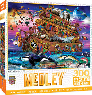 Noah's Ark 300pc Puzzle - Sweets and Geeks