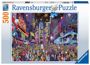 NEW YEARS IN TIMES SQUARE - 500 Piece Puzzle - Sweets and Geeks