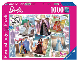 Barbie: Around The World - 1000 Piece Puzzle - Sweets and Geeks