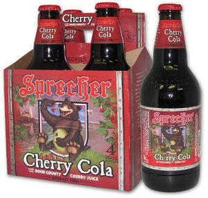 Sprecher Cherry Cola Soda - Sweets and Geeks