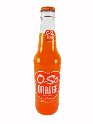 O-So Orange Soda - Sweets and Geeks