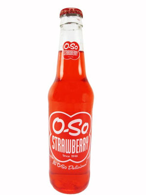 O-SO Strawberry Soda - Sweets and Geeks