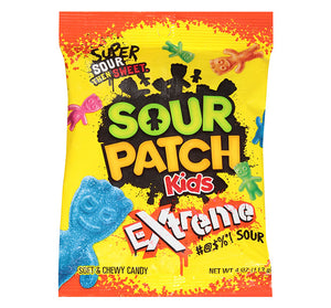 SOUR PATCH KIDS EXTREME PEG BAG - Sweets and Geeks