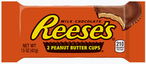 Reese's Peanut Butter Cups (Milk Chocolate) 1.5 OZ - Sweets and Geeks