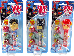POP-UPS DC JUSTICE LEAGUE BLISTER PACK - Sweets and Geeks