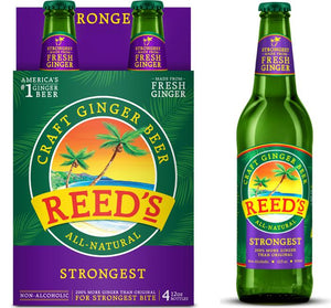 Reed's STRONGEST Ginger Beer - Sweets and Geeks