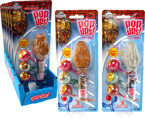 POP-UPS JURASSIC WORLD DINOSAUR BLISTER PACK - Sweets and Geeks