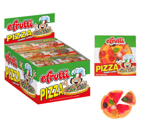 Efrutti Gummi Pizza - Sweets and Geeks