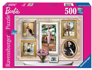 Barbie: Paris Fashion - 500 Piece Puzzle - Sweets and Geeks
