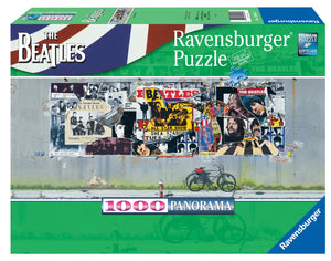 The Beatles - Panorama - 1000 PC Puzzle - Sweets and Geeks