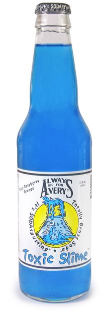 Avery's Toxic Slime Soda - Sweets and Geeks