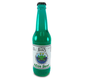 Avery's Alien Snot Soda - Sweets and Geeks